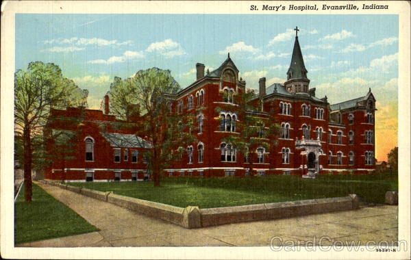 St. Mary's Hospital Evansville Indiana