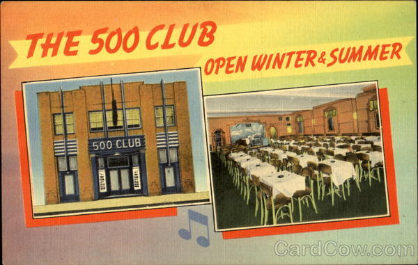 The 500 Club Restaurants