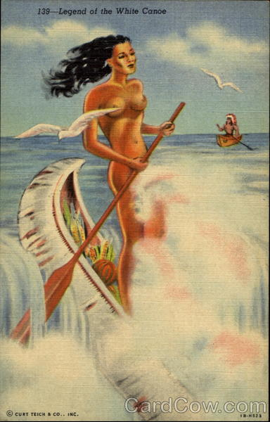 Legend Of The White Canoe Risque & Nude