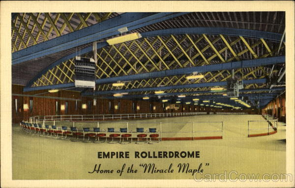 Empire Rollerdrome, 200 Empire Boulevard Brooklyn New York