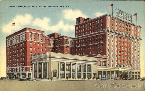 Hotel Lawrence Erie Pennsylvania