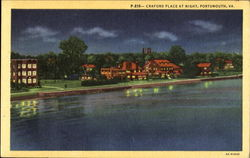 Craford Palace At Night