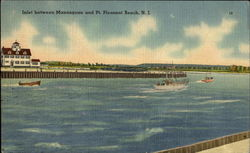 Inlet Between Manasquan And Pt. Pleasant Beach
