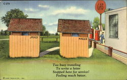 Gas Station Outhouses