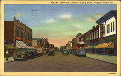 Jefferson Avenue Looking North