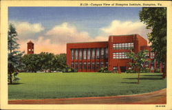 Campus View Of Hampton Institute Postcard