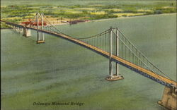 Delaware Memorial Bridge Postcard