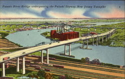 Passaic River Bridge Underpassing The Pulaski Skyway