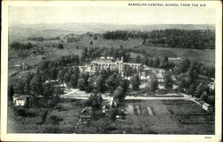 Randolph Central School From The Air