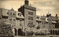 Hazard Quadrangle, Wellesley college