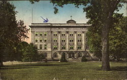 Guerin Hall, Saint Mary of the woods College Postcard