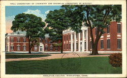Hall Laboratory Of Chemistry And Shanklin Laboratory Of Biology, Wesleyan College