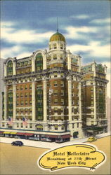 Hotel Belleclaire, Broadway at 77th Street