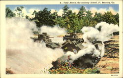 Tank Attack The Infantry School