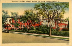 Norfolk General Hospital, Raleigh And Colley Avenues