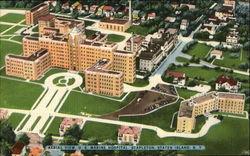 Aerial View U. S. Marine Hospital, Staten Island