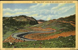 Dead Man Curve On Red Lodge Cooke City Highway
