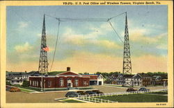 U. S. Post Office And Wireless Towers