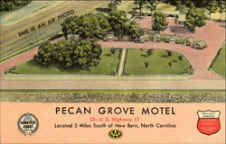 Pecan Grove Motel, U. S. Highway 17