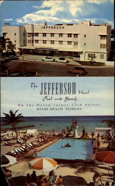The Jefferson Hotel 15th Street Miami Beach Florida