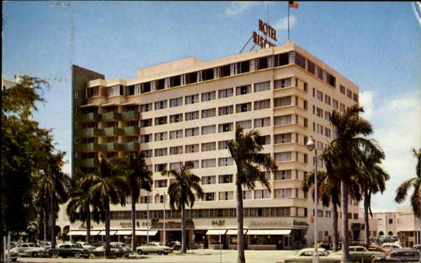 The Biscayne Terrace Hotel, 340 Biscayne Boulevard Miami Florida