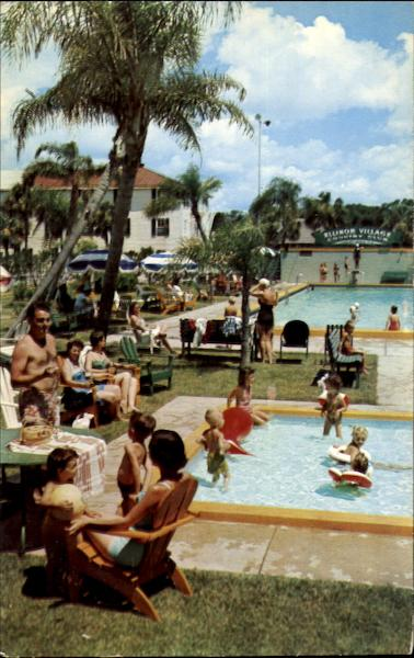 Swimming Pool And Country Club, Ellinor Village Ormond Beach Florida