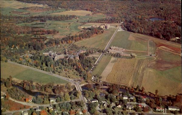Air View Of St. Francis Health Resort Denville New Jersey
