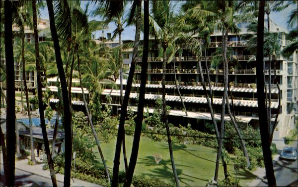 The Edgewater Hotel Waikiki Hawaii