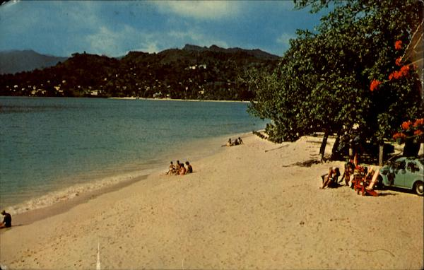 Grande Anse Beach Grenada Caribbean Islands