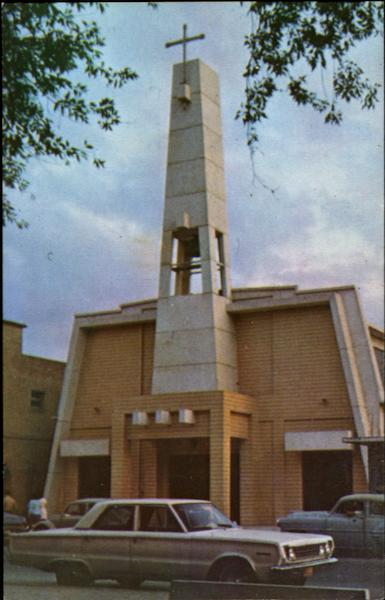 New Modern Architecture In Church Of Peace Nuevo Laredo Mexico