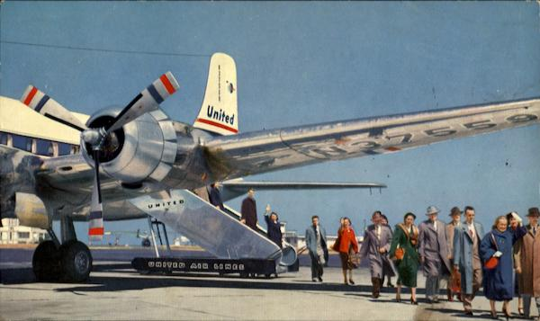 United DC-6 Aircraft