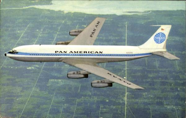 Pan American's Boeing 707 Jet Clipper Aircraft