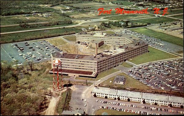 Aerial View Of The U. S. Army Signal Research And Development Laboratory Fort Monmouth New Jersey