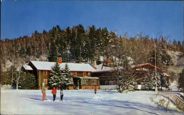 Winter At The Cardy-Alpine Inn Canada Quebec