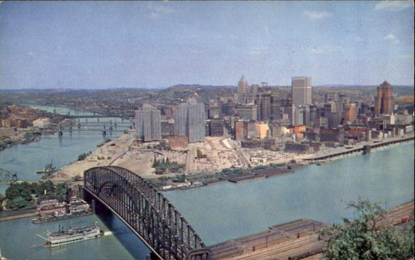 The Golden Triangle Pittsburgh Pennsylvania