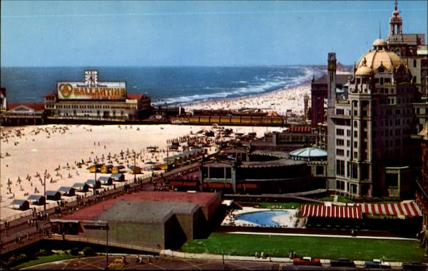 The Famed Marlborough Blenheim Hotel Atlantic City New Jersey