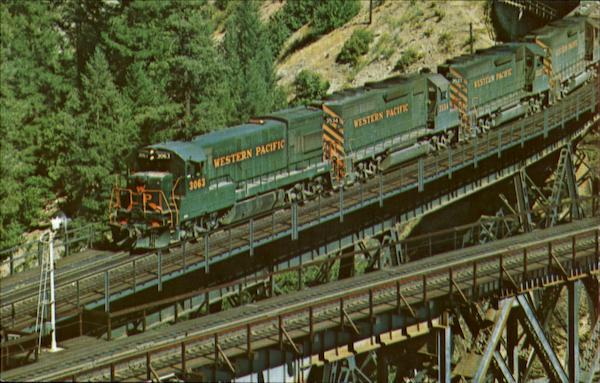 Western Pacific Trains, Railroad