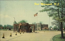 Main Entrance To Fort Monmouth