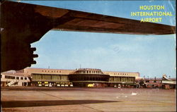 Houston International Airport Postcard