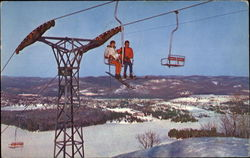 The Double Chairlift Postcard