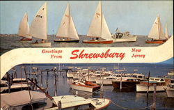 Greetings From Shrewsbury Postcard