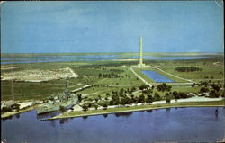 San Jacinto Monument And Battleship Texas Postcard