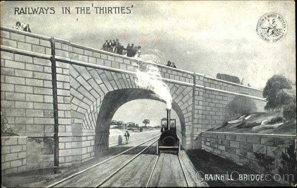Rainhill Bridge Trains, Railroad