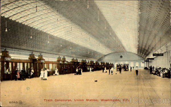 Train Concourse Union Station Washington District of Columbia