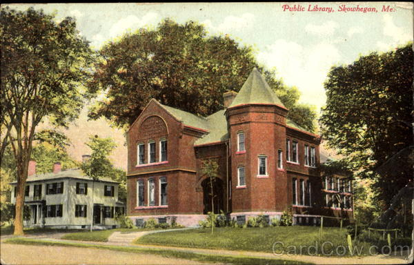 Public Library Skowhegan Maine