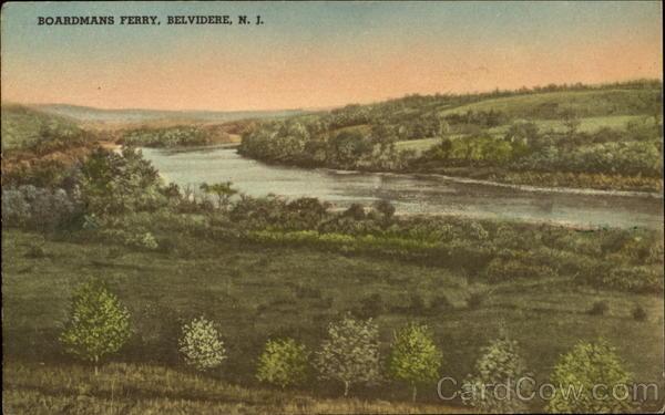 Boardmans Ferry Belvidere New Jersey