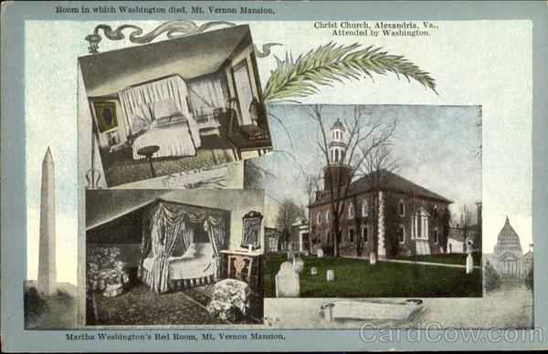 Martha Washington S Bed Room Mount Vernon Va