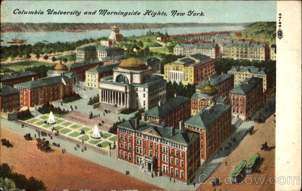 Columbia University And Morningside Hights New York
