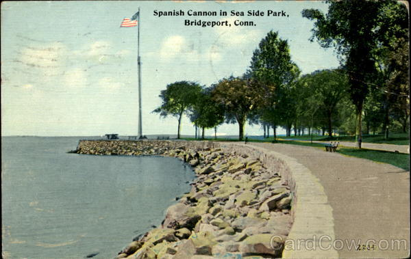 Spanish Cannon In Sea Side Park Bridgeport Connecticut