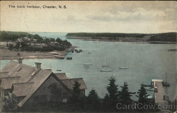 The Back Harbour Chester Canada Nova Scotia